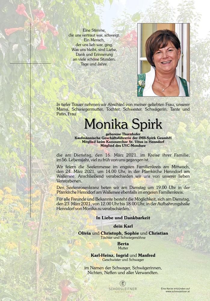 Monika Spirk - Parte